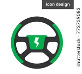 wheel electric car   Shutterstock .eps vector #773729083