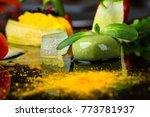 abstract gastronomy vanguard... | Shutterstock . vector #773781937