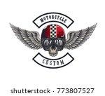 vector illustration vintage... | Shutterstock .eps vector #773807527