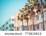 typical example of art deco... | Shutterstock . vector #773815813