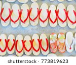 Japanese Wooden Shoes Or...