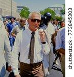 washington  dc. usa  1985 actor ... | Shutterstock . vector #773845303