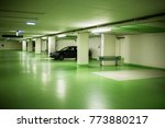 parking garage in underground... | Shutterstock . vector #773880217