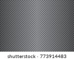 perforated metal gradation... | Shutterstock .eps vector #773914483