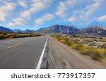 a trip at high speed through... | Shutterstock . vector #773917357