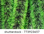 christmas tinsel  decoration as ... | Shutterstock . vector #773923657