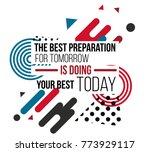 motivational quotes vector... | Shutterstock .eps vector #773929117