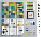 business brochure template... | Shutterstock .eps vector #773935153