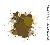 banner blot presentation ... | Shutterstock .eps vector #773995987