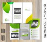 floral brochure template design ... | Shutterstock .eps vector #774004723