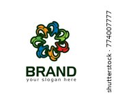 community people logo vector... | Shutterstock .eps vector #774007777