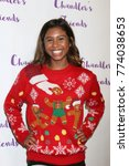 Small photo of LOS ANGELES - DEC 10: Aliyah Moulden at the Chandler's Friends Toy Drive & Wrapping Party at Los Angeles Ballet Academy on December 10, 2017 in Los Angeles, CA
