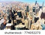 chicago city skyscraper  | Shutterstock . vector #774052273