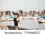 mother and daugther spending... | Shutterstock . vector #774068527