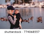 mother and daugther spending... | Shutterstock . vector #774068557