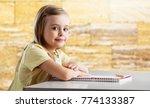 school child learn | Shutterstock . vector #774133387