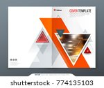 brochure template layout design.... | Shutterstock .eps vector #774135103