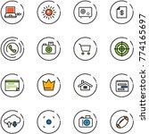 line vector icon set   netabook ...   Shutterstock .eps vector #774165697