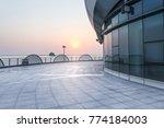 sunset view of west taihu lake  ... | Shutterstock . vector #774184003