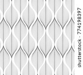 linear vector pattern ... | Shutterstock .eps vector #774198397