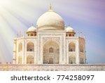 taj mahal. agra  india | Shutterstock . vector #774258097