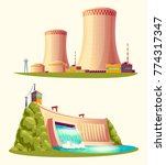 alternative energy sources ... | Shutterstock .eps vector #774317347