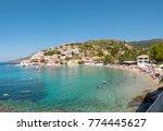 assos   kefalonia  20 august... | Shutterstock . vector #774445627