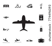 airplane icon. set of airport...