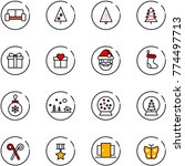 line vector icon set   vip... | Shutterstock .eps vector #774497713