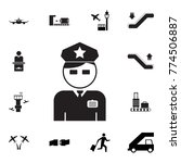 policeman officer avatar icon.... | Shutterstock .eps vector #774506887