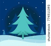shiny xmas background with... | Shutterstock .eps vector #774511393