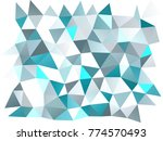 light blue vector abstract... | Shutterstock .eps vector #774570493
