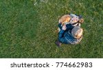 romantic senior couple portrait ... | Shutterstock . vector #774662983