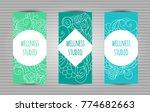 wellness  yoga and meditation...   Shutterstock .eps vector #774682663