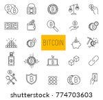 set of line stroke vector...   Shutterstock .eps vector #774703603