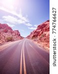 desert road  travel adventure... | Shutterstock . vector #774766627