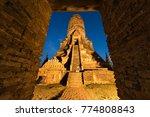 wat chaiwatthanaram is ancient... | Shutterstock . vector #774808843
