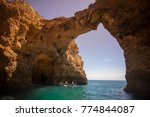 a landscape at the rocks of... | Shutterstock . vector #774844087