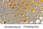 macro shot foam bubble from... | Shutterstock . vector #774906253