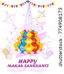 vector illustration of happy...   Shutterstock .eps vector #774908173