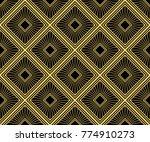 art deco seamless pattern... | Shutterstock .eps vector #774910273