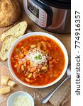 Small photo of Minestrone Soup made in Instant Pot Pressure Cooker