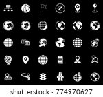 map icons set   Shutterstock .eps vector #774970627