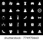 fashion icons set   Shutterstock .eps vector #774970663