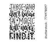 those who do not believe in... | Shutterstock .eps vector #774978097