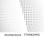 abstract halftone wave dotted...   Shutterstock .eps vector #774982993
