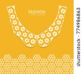 vector fashion background....   Shutterstock .eps vector #774986863