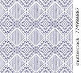 traditional etnic pattern in...   Shutterstock .eps vector #774986887