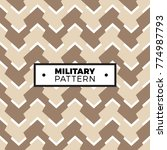 camouflage. seamless pattern...   Shutterstock .eps vector #774987793