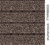 animal skin leopard pattern in...   Shutterstock .eps vector #774988003